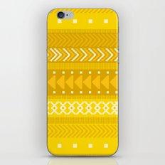 Indomitable - tribal geometrics iPhone & iPod Skin
