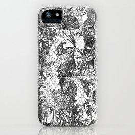 Monster Forest iPhone Case