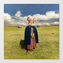 Little Mouse on the Prairie Canvas Print