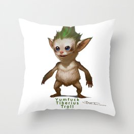 YT Troll - Revelations of Oriceran (C) Throw Pillow