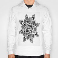 zentangle Hoodies featuring Zentangle by Cady Bogart