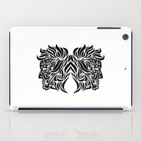 gemini iPad Cases featuring Gemini by Mario Sayavedra