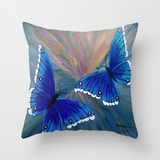 Butterflies-2  Throw Pillow