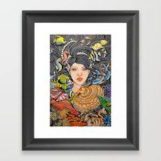 Gone Under Framed Art Print