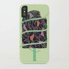Winter Tree iPhone X Slim Case