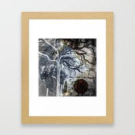 Growing up. Framed Art Print