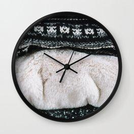 Blankets Wall Clock