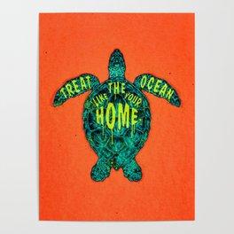 ocean omega (variant 2) Poster