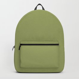 Moss Green | Solid COlour Backpack