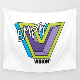Empty V (purple) Wall Tapestry