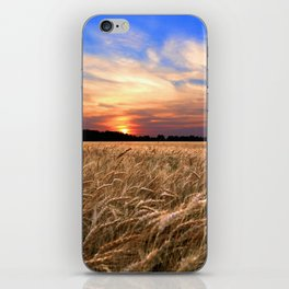 Sunset Harvest iPhone Skin