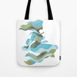 Aquatic Woman Tote Bag