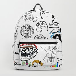 Meme Faces Backpack