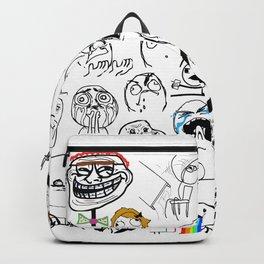 Meme Faces Backpack