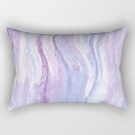 Abstract textile Rectangular Pillow
