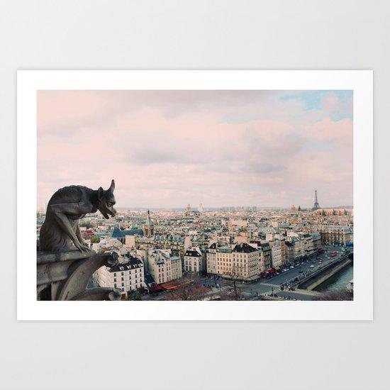 Pastel Daydreams Art Print