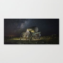 Defeated Water Tank Canvas Print