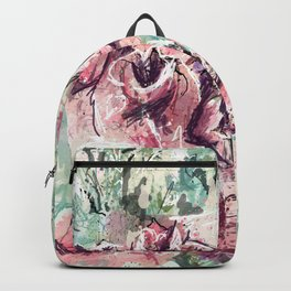 Abstract flowers 1 Backpack