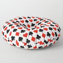 Card Suits Floor Pillow