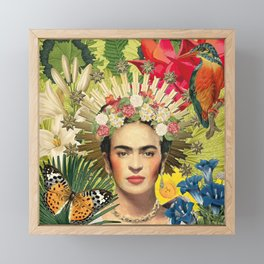 Frida Kahlo XI Framed Mini Art Print