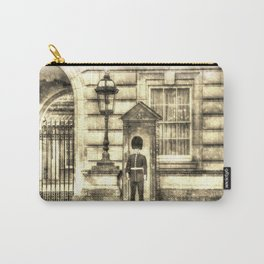 Buckingham Palace Queens Guard Vintage Carry-All Pouch