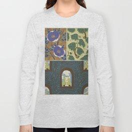 Art Deco vintage pattern Long Sleeve T-shirt