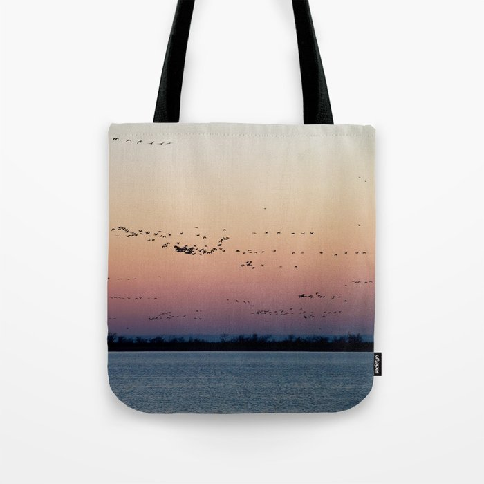 Over the Sunrise Tote Bag