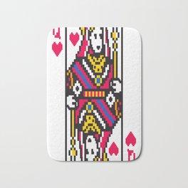 Queen-of-Hearts Bath Mat