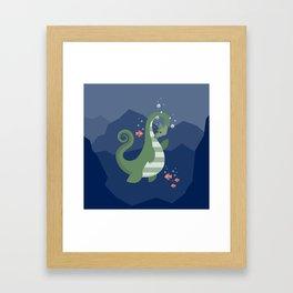 Ogopogo Framed Art Print