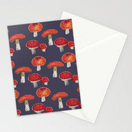 Amanita The Red Mushroom  Stationery Cards