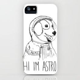 Hi I'm Astro - Killmama iPhone Case