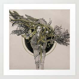 Druid Art Print
