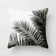 Palm Leaves 3 Throw Pillow