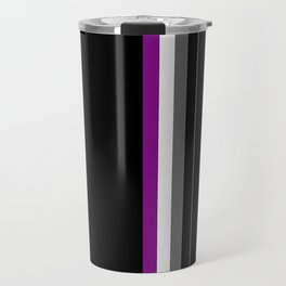 Asexuality in Shapes Travel Mug