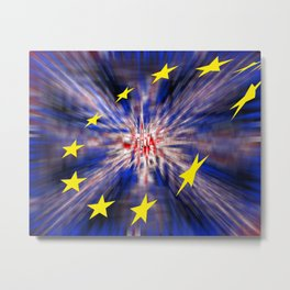 The exit from Great Britain Metal Print