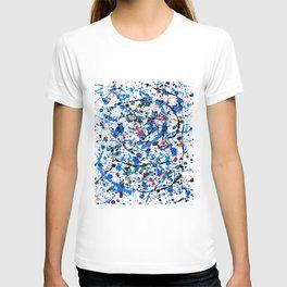Frenzy in Blue T-shirt
