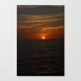 Deep Crimson Canvas Print