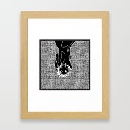 Bomb Framed Art Print