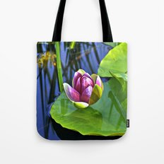 Summery Ode to the WATER LILY  Tote Bag