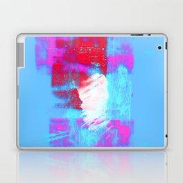 abstract blue pink Laptop & iPad Skin