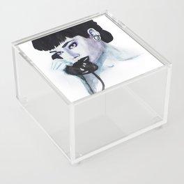 Audrey Is Calling Acrylic Box