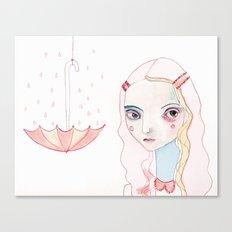 Don't Rain on my Parade Canvas Print