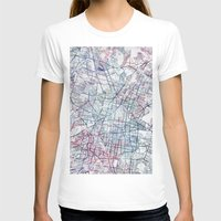 mexico T-shirts featuring Mexico map by MapMapMaps.Watercolors