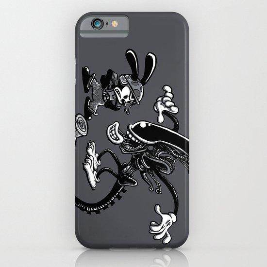 Alien vs Oswald iPhone & iPod Case