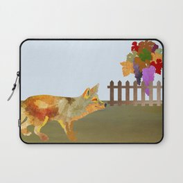 The Fox and the Vineyard Laptop Sleeve