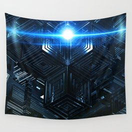 Beam Me Up Scotty Wall Tapestry