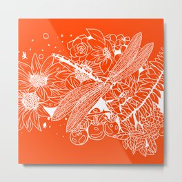 The Dragon Fly Metal Print