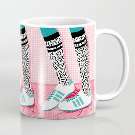 Aiight - sports fashion retro throwback style 1980s neon palm springs socal country club hipster Coffee Mug