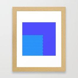 Tribally Greenishness Framed Art Print