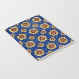Swirly Sunflower Notebook
